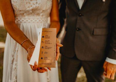 faire-part de mariage à personnaliser thème champêtre