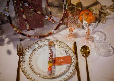 marque-place mariage automne
