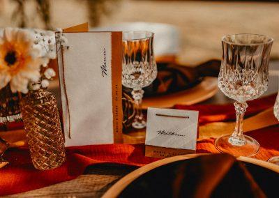 inspiration de table mariage thème champêtre