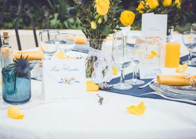 nom de table mariage champêtre