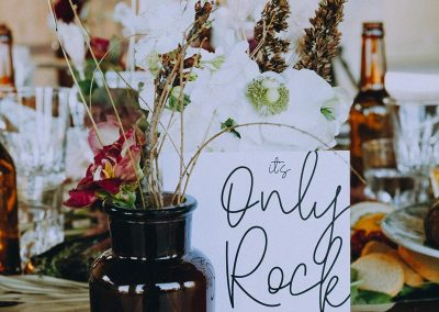nom de table mariage thème rock