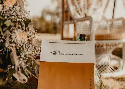 panneau de bienvenue mariage champêtre