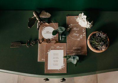 collection papeterie de mariahe à personnaliser thème bohème