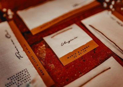 collection papeterie de mariage à personnaliser thème champêtre