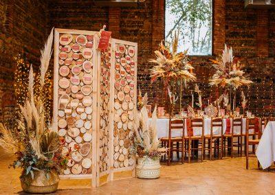 plan de table mariage en automne