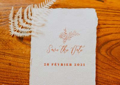 save the date mariage bucolique