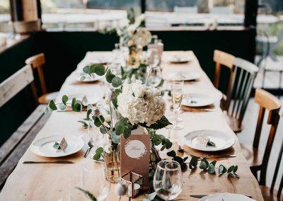 inspiration de table mariage thème bohème