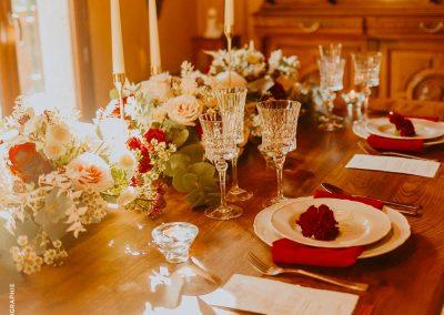 inspiration de table mariage bucolique