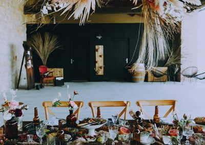 inspiration table mariage rock