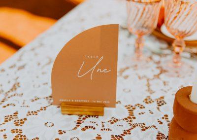 numero de table mariage arrondi